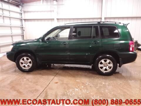 2003 Toyota Highlander for sale at East Coast Auto Source Inc. in Bedford VA
