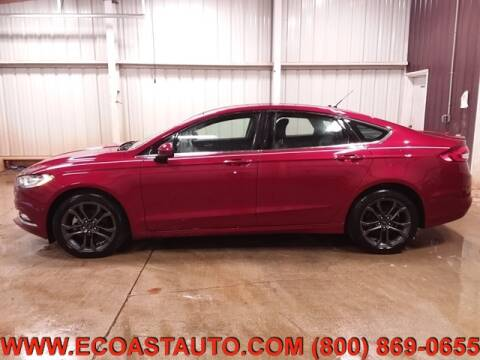 2018 Ford Fusion SE for sale at East Coast Auto Source Inc. in Bedford VA