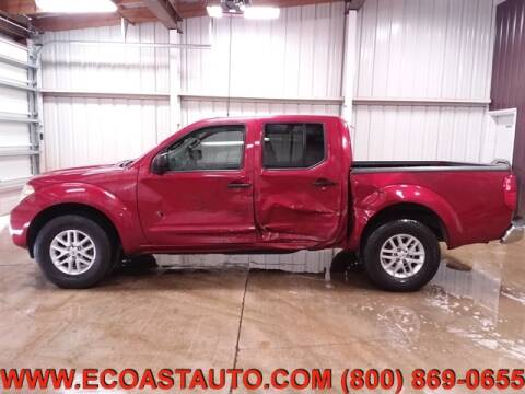 2016 Nissan Frontier SV for sale at East Coast Auto Source Inc. in Bedford VA