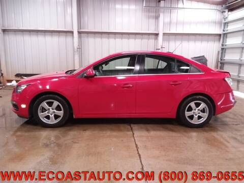 2015 Chevrolet Cruze for sale at East Coast Auto Source Inc. in Bedford VA