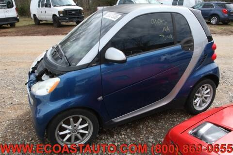 2008 Smart fortwo for sale at East Coast Auto Source Inc. in Bedford VA