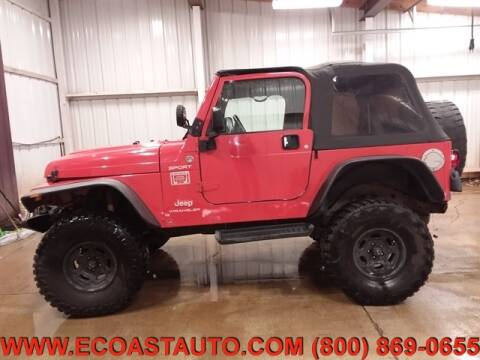 2005 Jeep Wrangler for sale at East Coast Auto Source Inc. in Bedford VA
