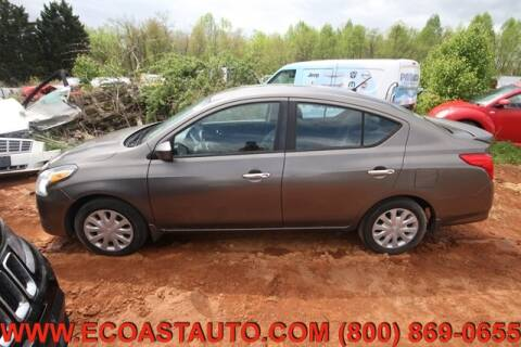 2015 Nissan Versa for sale at East Coast Auto Source Inc. in Bedford VA