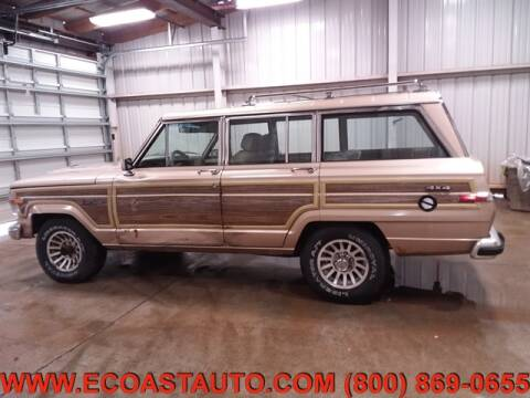 1990 Jeep Grand Wagoneer for sale at East Coast Auto Source Inc. in Bedford VA