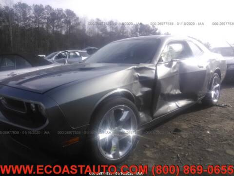 2012 Dodge Challenger for sale at East Coast Auto Source Inc. in Bedford VA