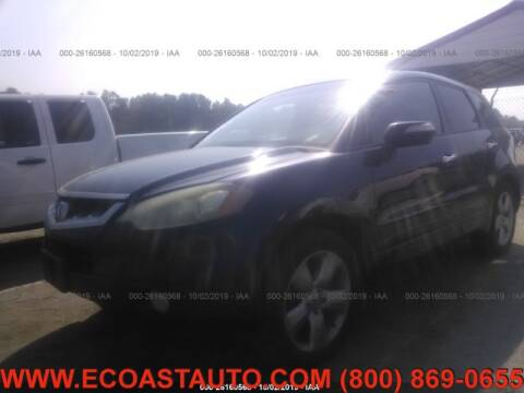 2007 Acura RDX for sale at East Coast Auto Source Inc. in Bedford VA