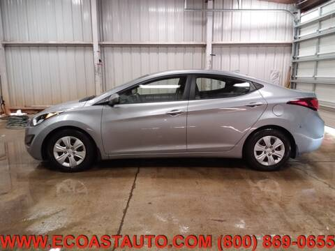 2016 Hyundai Elantra for sale at East Coast Auto Source Inc. in Bedford VA