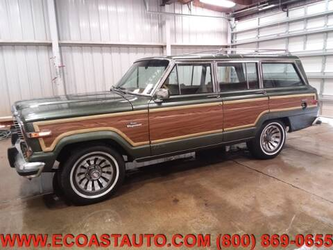 1984 Jeep Grand Wagoneer for sale at East Coast Auto Source Inc. in Bedford VA