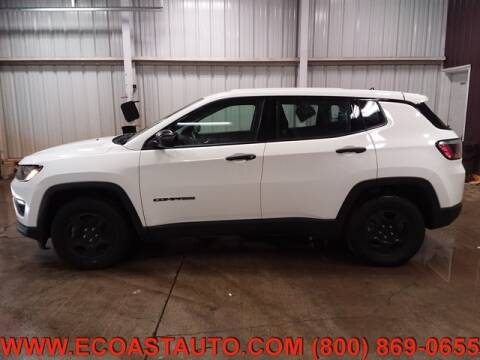 2017 Jeep Compass for sale at East Coast Auto Source Inc. in Bedford VA