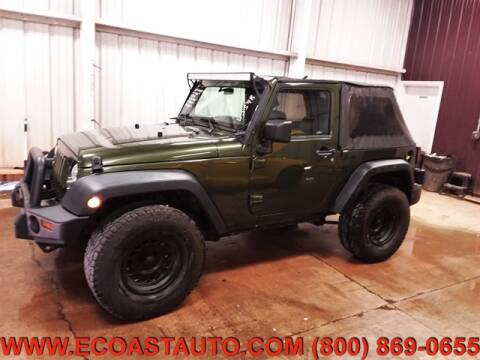 2009 Jeep Wrangler for sale at East Coast Auto Source Inc. in Bedford VA