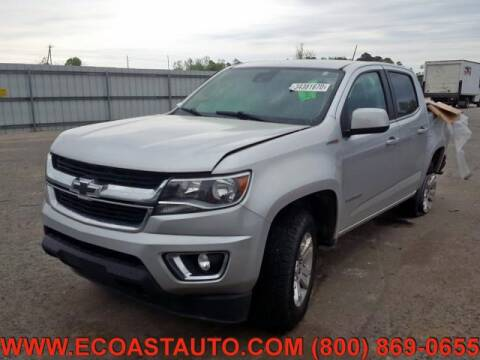 2016 Chevrolet Colorado for sale at East Coast Auto Source Inc. in Bedford VA