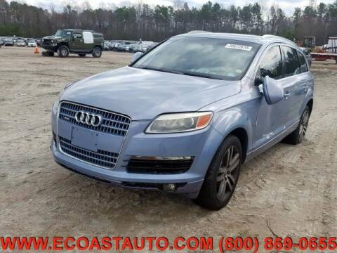 2007 Audi Q7 for sale at East Coast Auto Source Inc. in Bedford VA