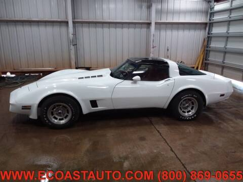 1981 Chevrolet Corvette for sale at East Coast Auto Source Inc. in Bedford VA