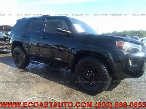 2019 Toyota 4Runner for sale at East Coast Auto Source Inc. in Bedford VA