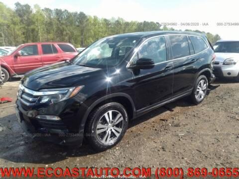 2017 Honda Pilot for sale at East Coast Auto Source Inc. in Bedford VA