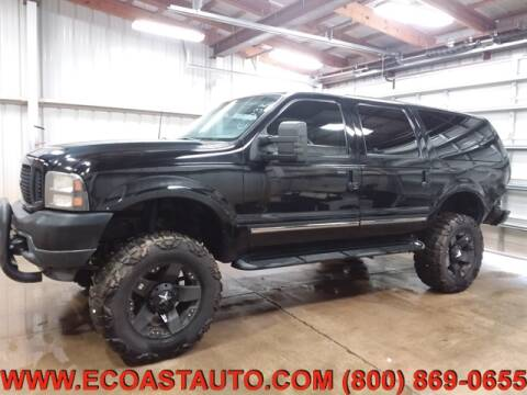 2003 Ford Excursion for sale at East Coast Auto Source Inc. in Bedford VA