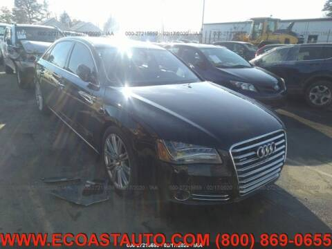 2013 Audi A8 L for sale at East Coast Auto Source Inc. in Bedford VA