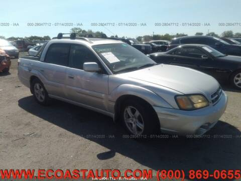 2003 Subaru Baja for sale at East Coast Auto Source Inc. in Bedford VA