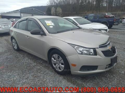 2013 Chevrolet Cruze for sale at East Coast Auto Source Inc. in Bedford VA