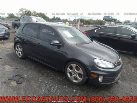 2010 Volkswagen GTI for sale at East Coast Auto Source Inc. in Bedford VA