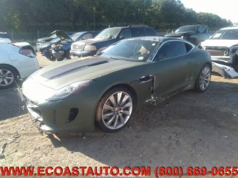 2015 Jaguar F-TYPE for sale at East Coast Auto Source Inc. in Bedford VA