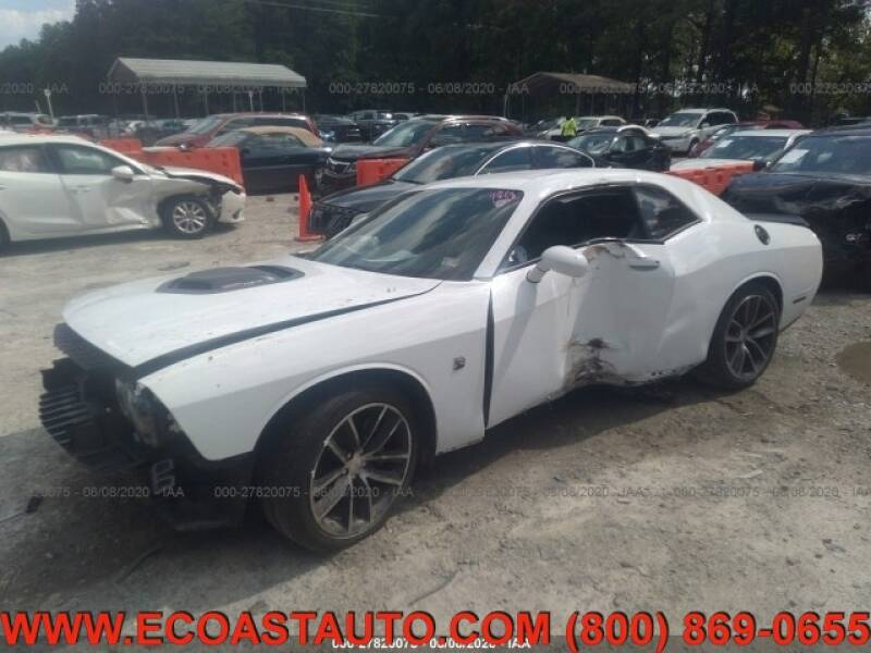 2016 Dodge Challenger for sale at East Coast Auto Source Inc. in Bedford VA