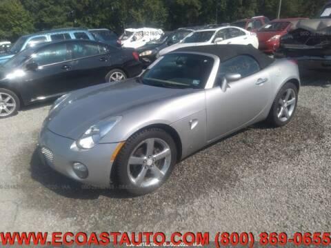 2006 Pontiac Solstice for sale at East Coast Auto Source Inc. in Bedford VA