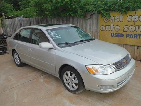2001 Toyota Avalon for sale at East Coast Auto Source Inc. in Bedford VA