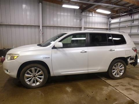 2008 Toyota Highlander Hybrid for sale at East Coast Auto Source Inc. in Bedford VA