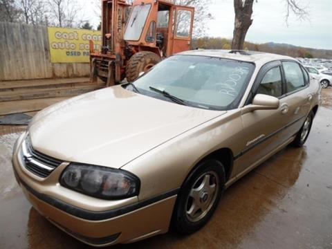 2000 Chevrolet Impala for sale at East Coast Auto Source Inc. in Bedford VA