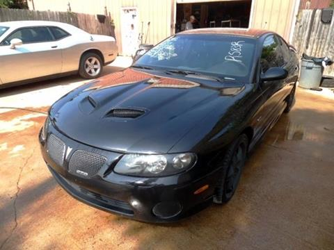 2005 Pontiac GTO for sale at East Coast Auto Source Inc. in Bedford VA