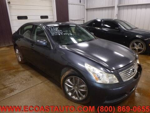 2008 Infiniti G35 for sale at East Coast Auto Source Inc. in Bedford VA