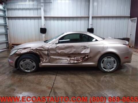 2002 Lexus SC 430 for sale at East Coast Auto Source Inc. in Bedford VA