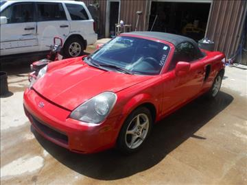 2000 Toyota MR2 Spyder for sale in Bedford, VA