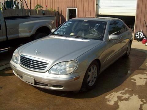 2000 Mercedes Benz S Class For Sale In Bedford, VA