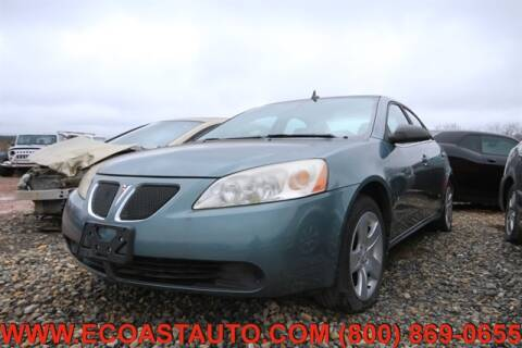 2009 Pontiac G6 for sale at East Coast Auto Source Inc. in Bedford VA
