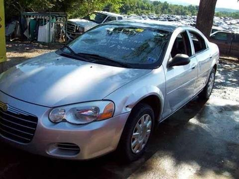 2004 Chrysler Sebring for sale at East Coast Auto Source Inc. in Bedford VA