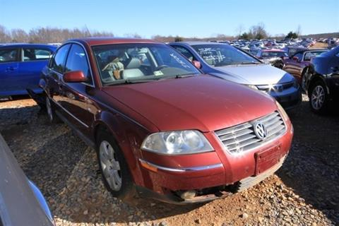 2003 Volkswagen Passat for sale at East Coast Auto Source Inc. in Bedford VA