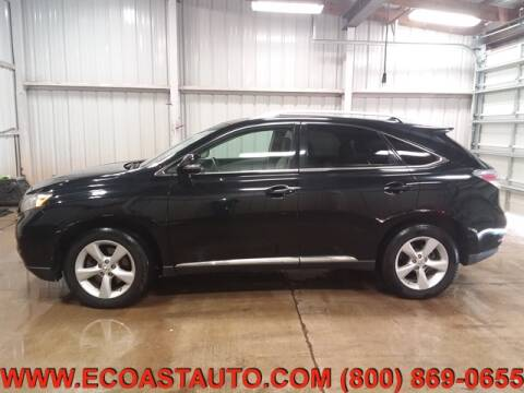 2011 Lexus RX 350 for sale at East Coast Auto Source Inc. in Bedford VA