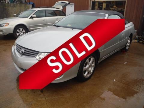 2003 Toyota Camry Solara for sale in Bedford, VA