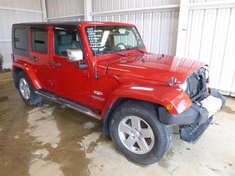 2010 Jeep Wrangler Unlimited for sale in Bedford, VA