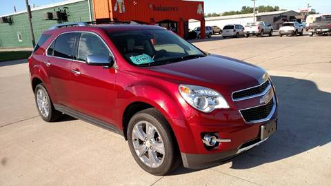 2011 Chevrolet Equinox for sale at G & S Auto Sales in Milbank SD