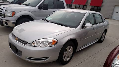2012 Chevrolet Impala for sale at G & S Auto Sales in Milbank SD