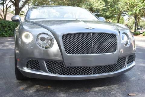 2013 Bentley Continental for sale at Monaco Motor Group in Orlando FL