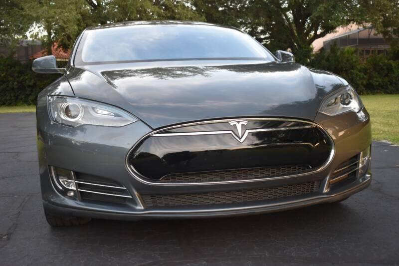2012 Tesla Model S for sale at Monaco Motor Group in Orlando FL
