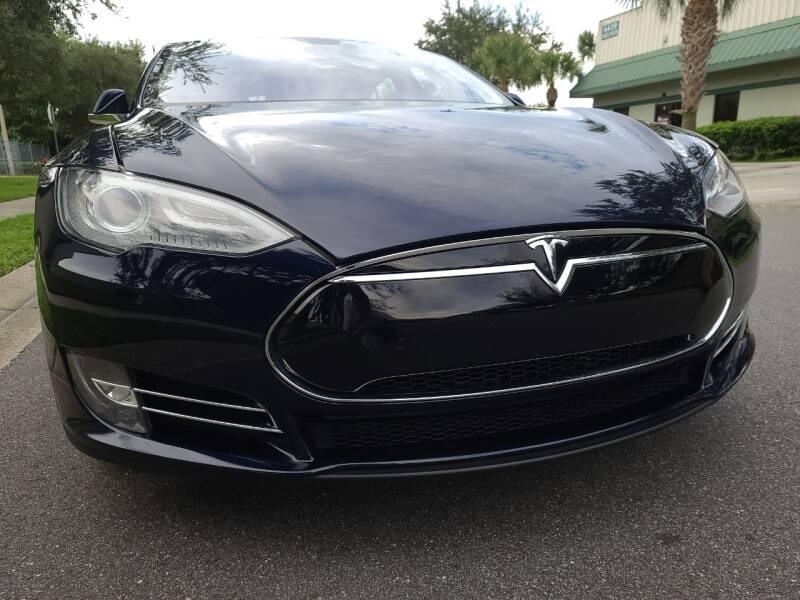 2013 Tesla Model S for sale at Monaco Motor Group in Orlando FL