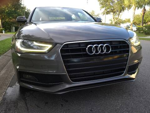 2014 Audi A4 for sale at Monaco Motor Group in Orlando FL
