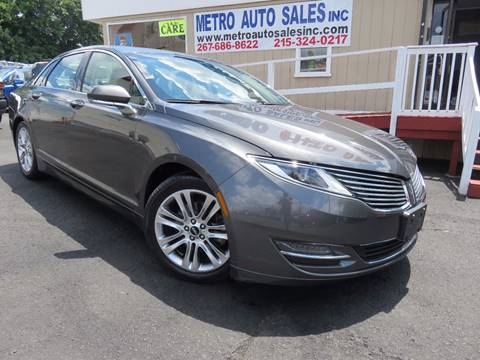 2015 Lincoln MKZ for sale in Philadelphia, PA
