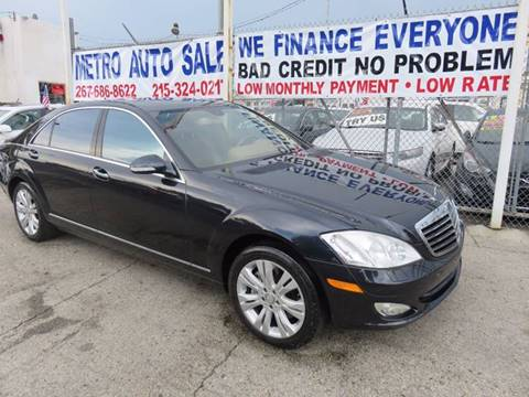 2009 Mercedes-Benz S-Class for sale in Philadelphia, PA
