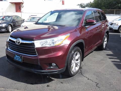 2014 Toyota Highlander for sale in Philadelphia, PA